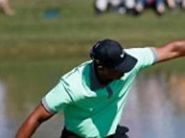 Vintage Tiger Woods tames the Blue Monster by shooting 66 but Rory McIlroy suffers water torture