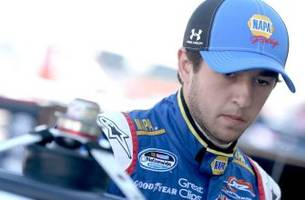 chase elliott impresses with fifth place finish in las vegas