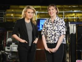 Yup, Lena Dunham Got Naked on 'Saturday Night Live'