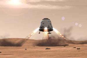 'red dragon' could visit mars in proposed nasa mission