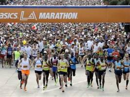 Ethiopian Woman Wins 'Gender Challenge' at LA Marathon