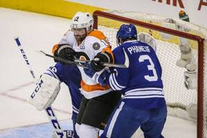 Leafs squander leads but claim OT victory over Flyers: Feschuk